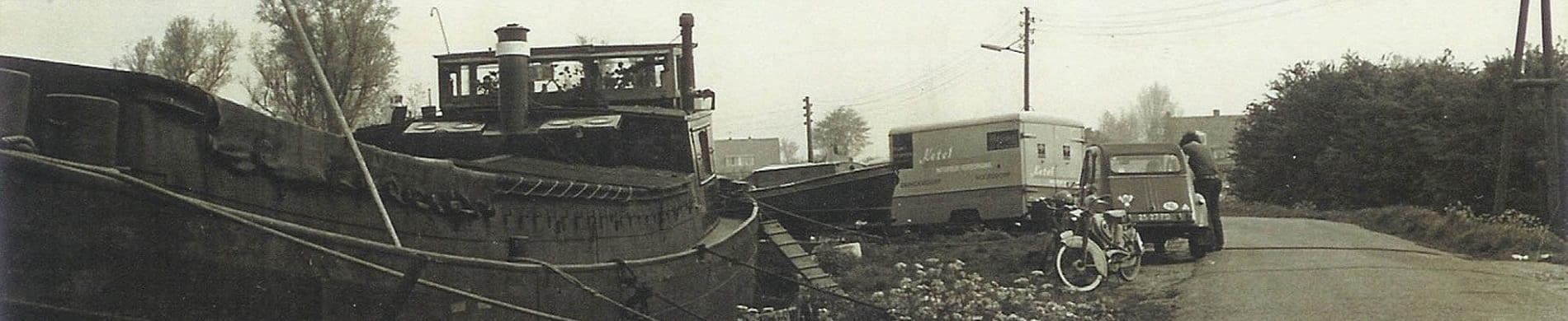 historie zeilschip