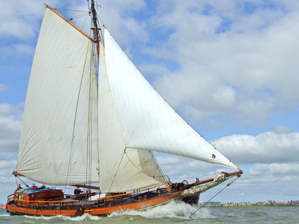 Het originele zeilschip de Catharina van Mijdrecht