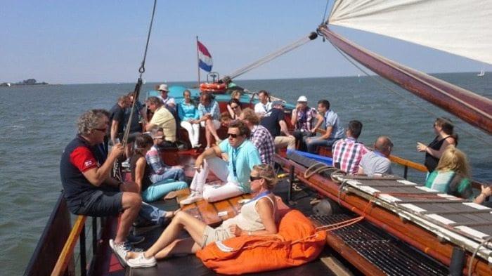 Lange-dagtocht zeilen op het IJsselmeer